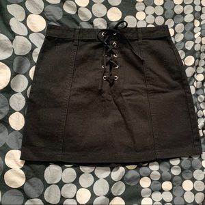 Forever 21 Skirts - Lace up Skirt
